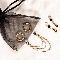 Non piercing schaamlip ringen met ketting en hangers