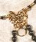String Lion Or / De Gouden Leeuw string