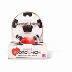World Kick mini vibrerende voetbal, rood