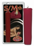 SM Kaars XXL rood, 25 cm lang (LAATSTE)